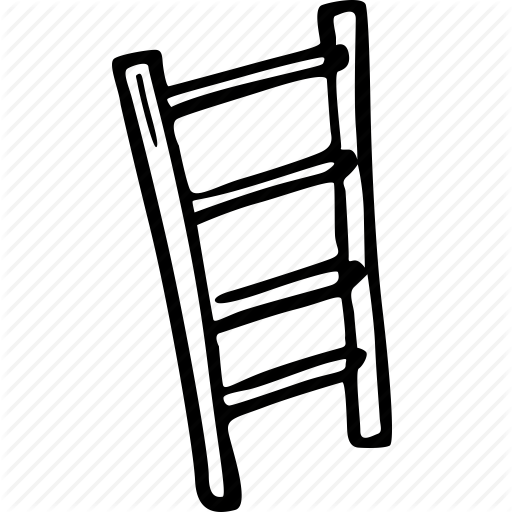 512x512 Ladder Vector Drawn Huge Freebie! Download For Powerpoint