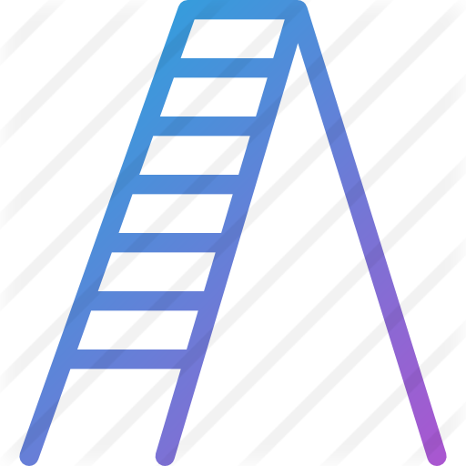 512x512 Illustration, Drawing, Ladder, Transparent Png Image Clipart