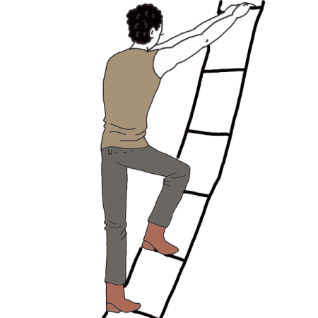 450x450 Success Drawing Ladder Transparent Png Clipart Free Download