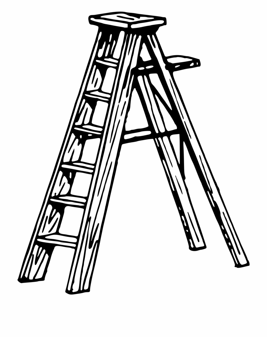 920x1160 Clip Art Ladders