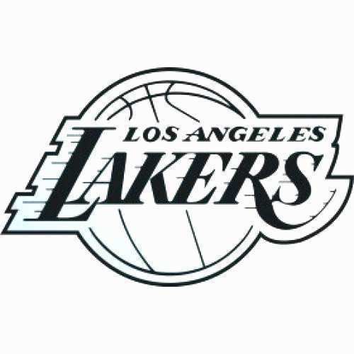 Lakers Logo Drawing Free Download On Clipartmag