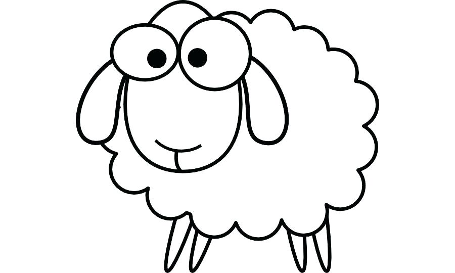 900x540 lamb outline sheep toy icon outline style stock vector lamb