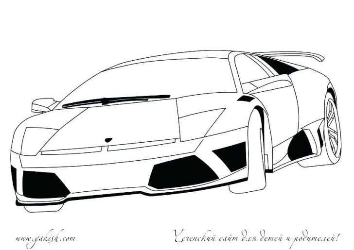 Lamborghini Aventador Drawing | Free download best ...