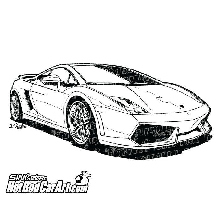Tattoo Lamborghini | rallyhaus :: Enjoy the Drive  |Lamborgini Cars Drawings Tattoo