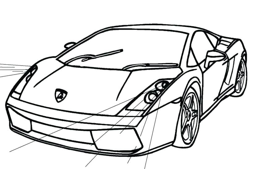 Lamborghini Drawing | Free Download On ClipArtMag