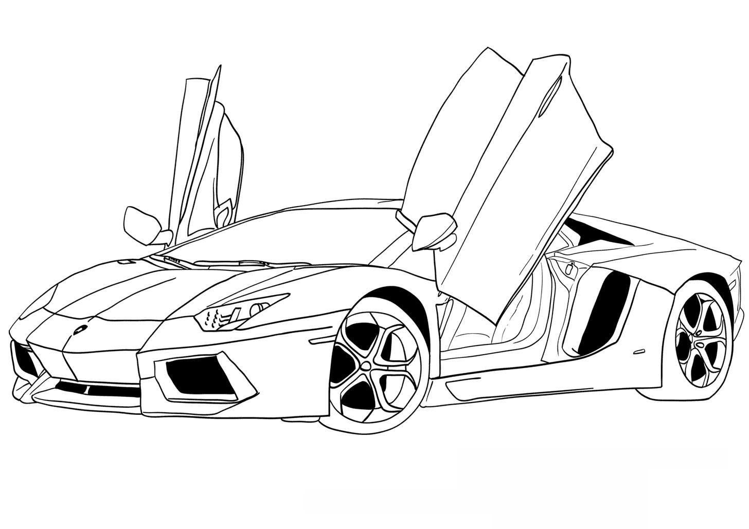 1456x1029 ausmalbilder lamborghini gallardo coloring club cars aventador