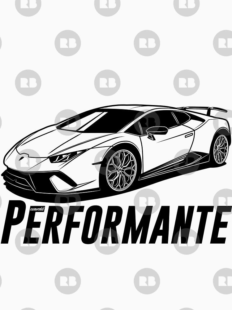 Lamborghini Huracan Drawing | Free Download On ClipArtMag