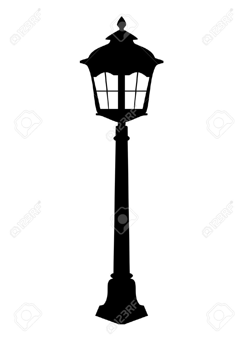 959x1300 Lamp Post Clipart Street Light