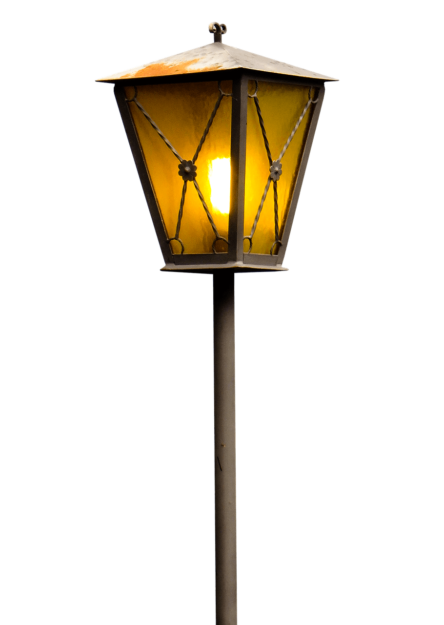 910x1280 Lamp Post Drawing Transparent Png
