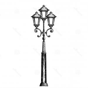 300x300 Street Lamps And Lamp Posts Vector Hoodamathrun