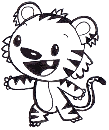350x416 How To Draw Rintoo From Ni Hao Kai Lan On Nick Jr Drawing Lesson