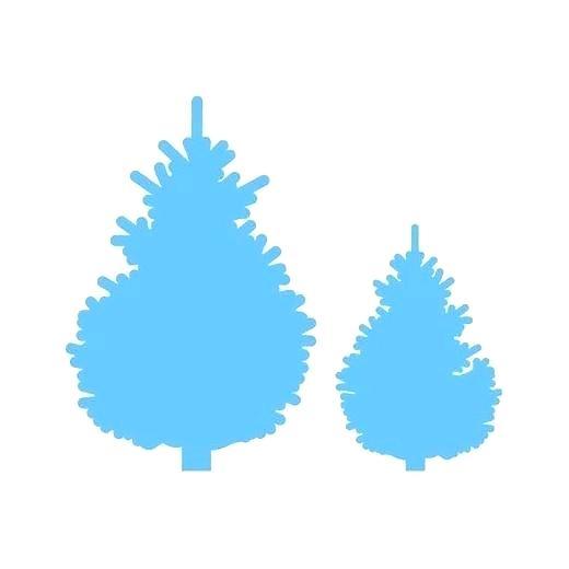 520x520 Pine Tree Landscape