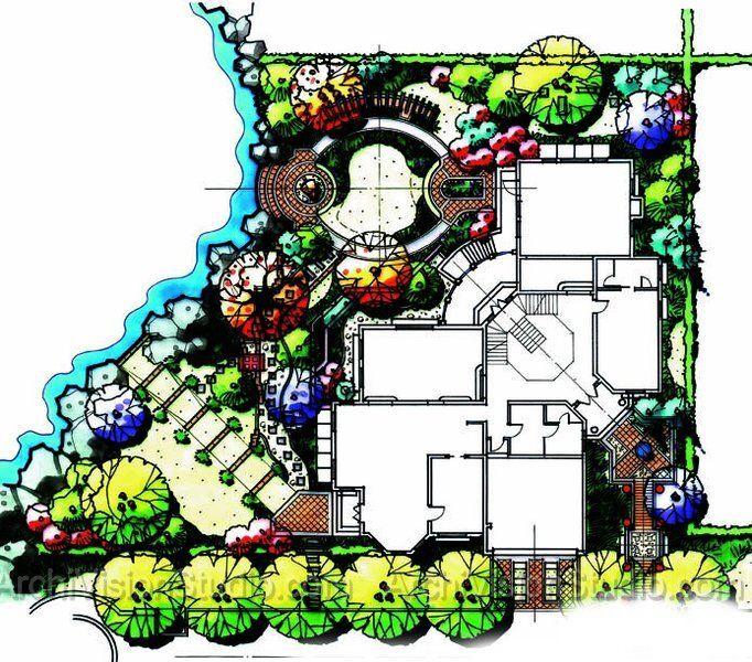 682x600 Beautiful Waterfront Landscape Design Growing Gardens