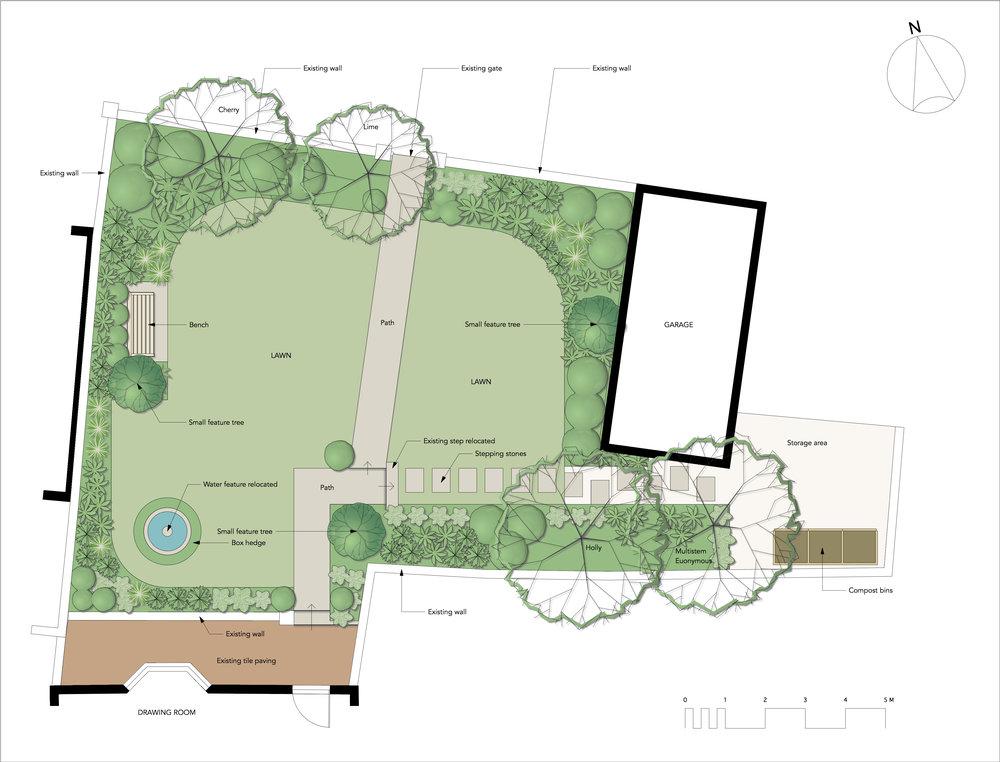 1000x762 Brighton Front Garden Design Bo Cook Landscape Garden Design