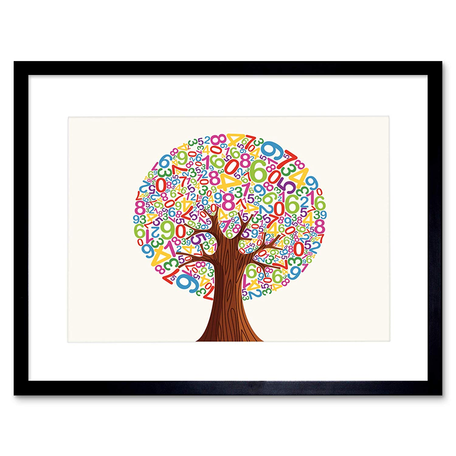 1500x1500 Painting Drawing Abstract Tree Style Number Leave