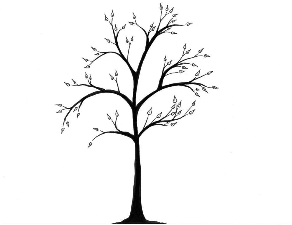990x763 Giveaway Simpl Simple Tree Drawings Trees