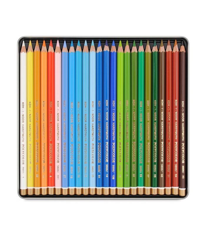 700x800 Koh I Noor Polycolor Coloured Pencil Set