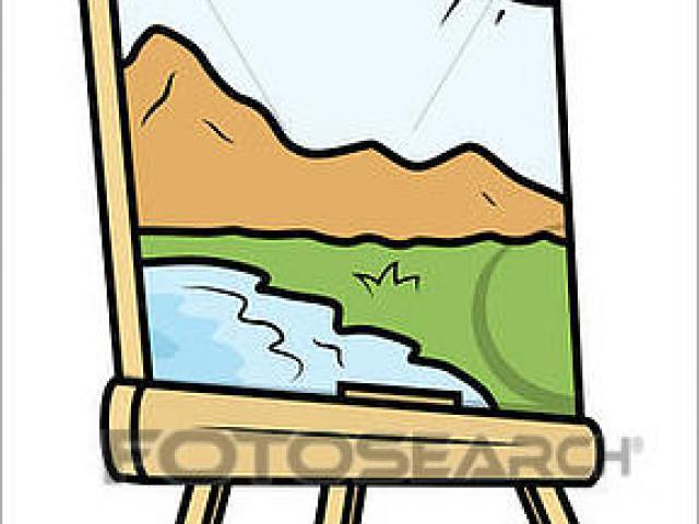 640x480 Landscape Drawing Cliparts