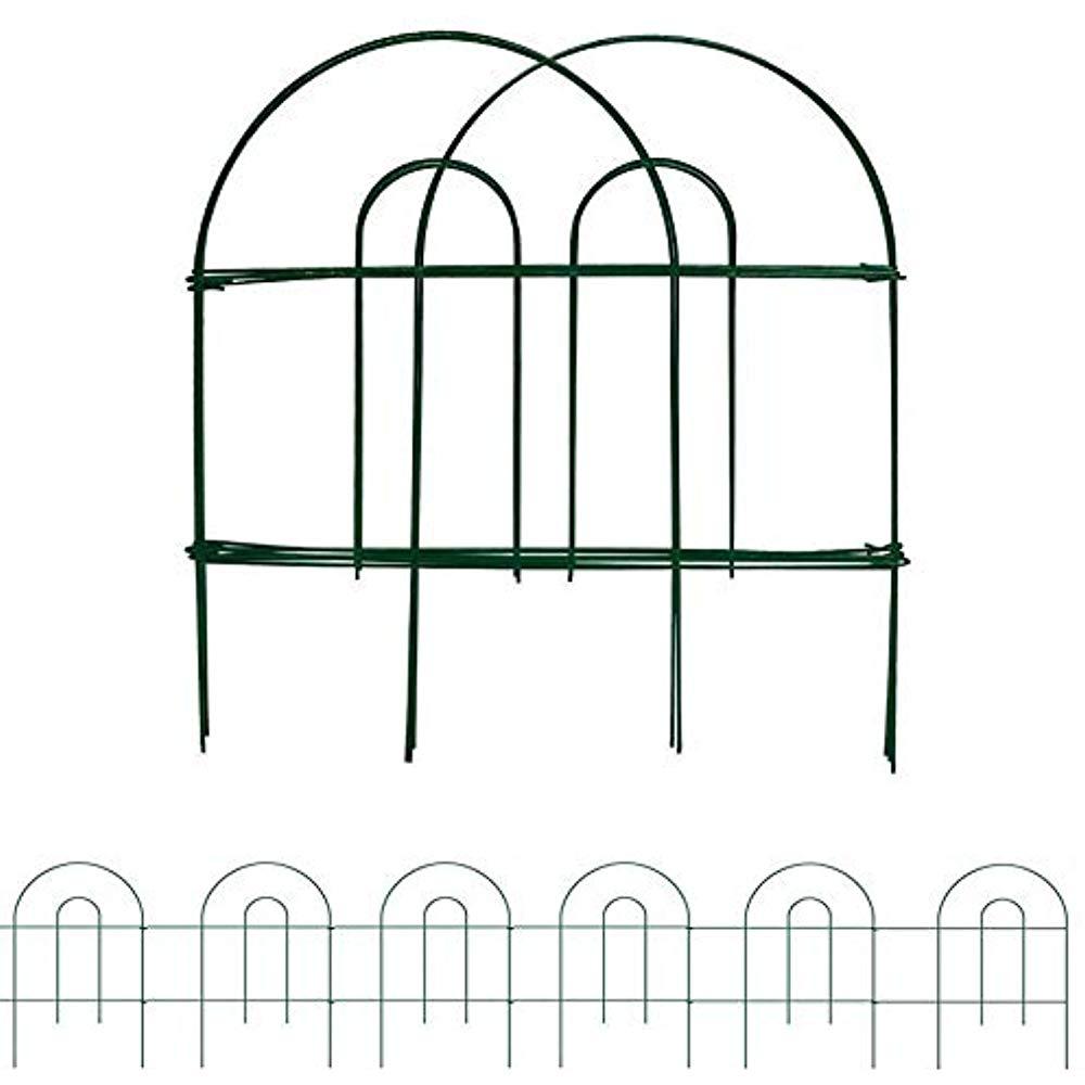1000x1000 mtb decorative fences green garden border folding lawn yard