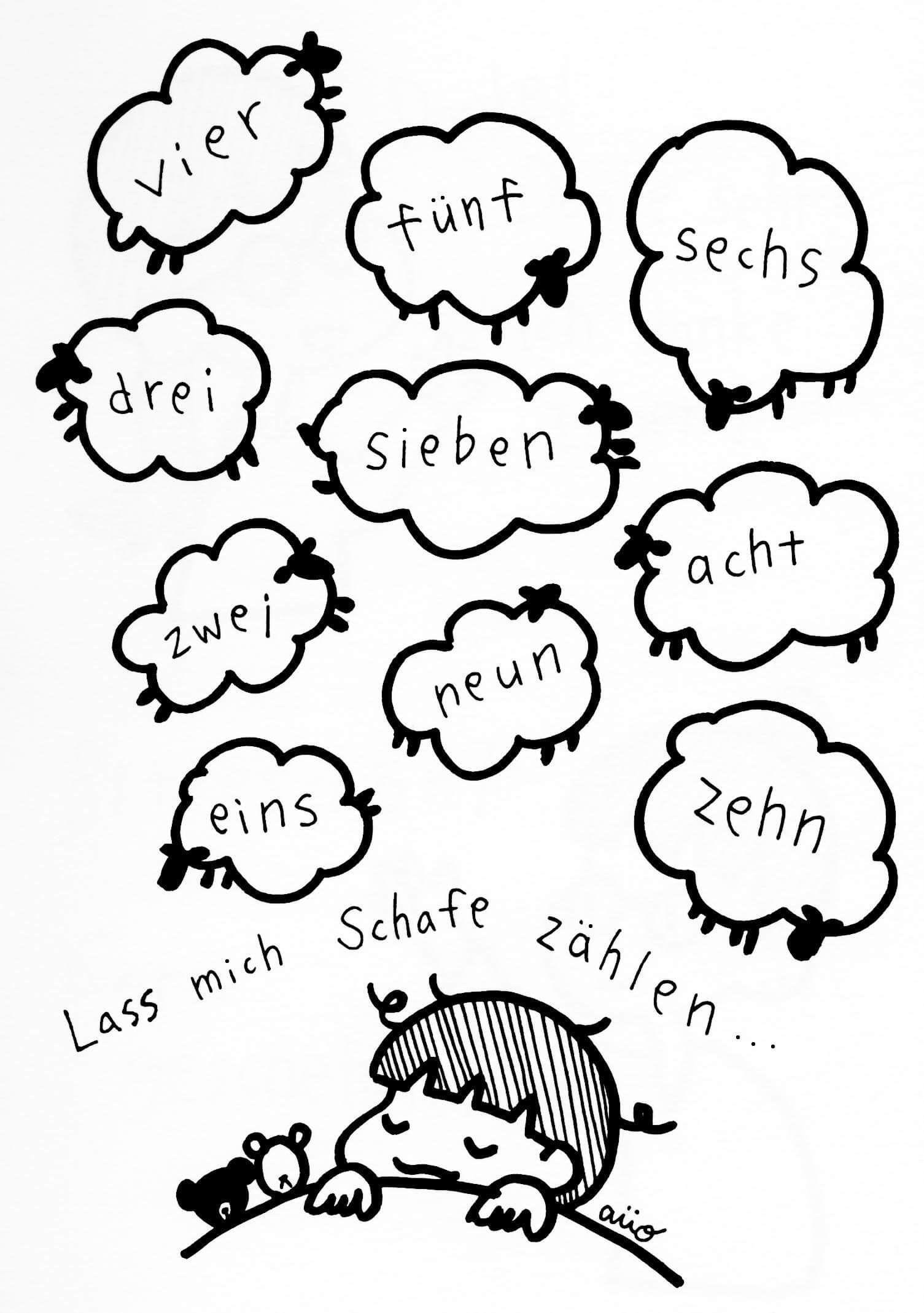 1505x2138 practise your german with drawings german german
