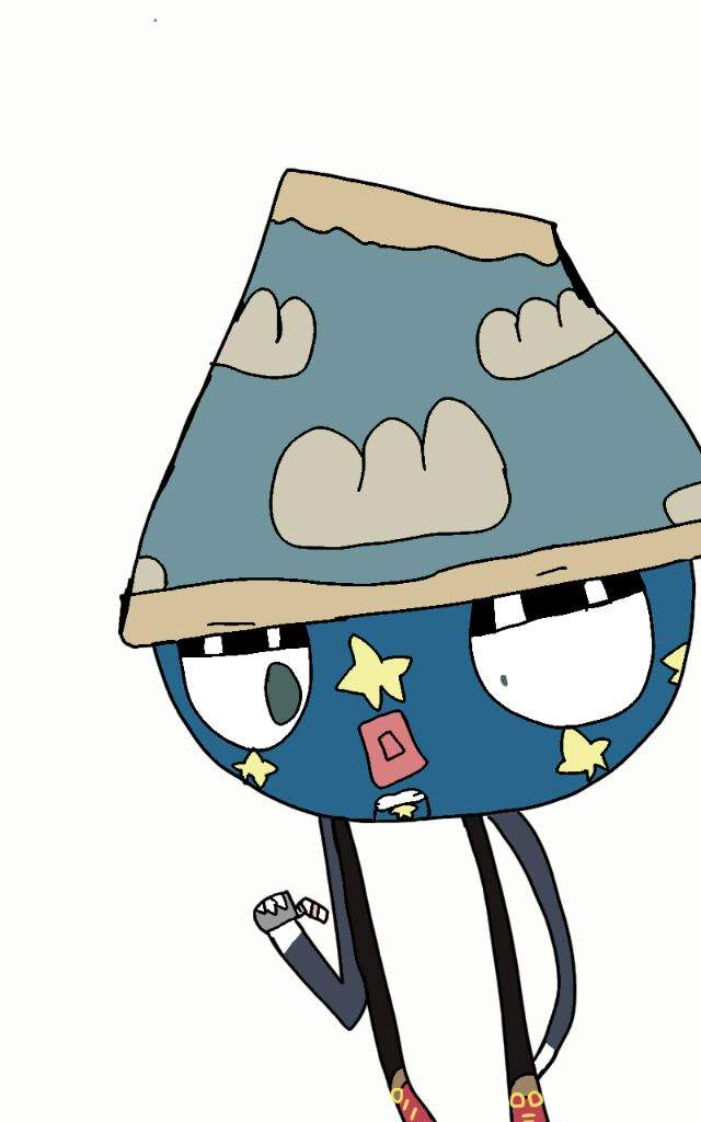 640x1024 Larry The Lamp Drawing Don't Hug Me I'm Scared Amino