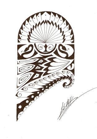 313x448 Tattoo Design Drawing