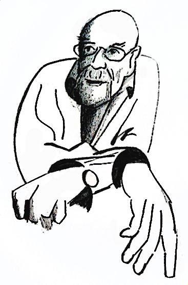 367x555 This Drawing Of Louis Munan Was Created