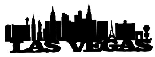 500x186 las vegas scrapbooking laser cut title with skyline scrapbooking