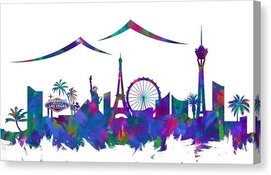 546x352 Las Vegas Strip Canvas Prints