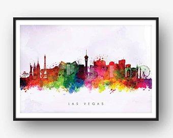 340x270 Las Vegas Skyline Etsy