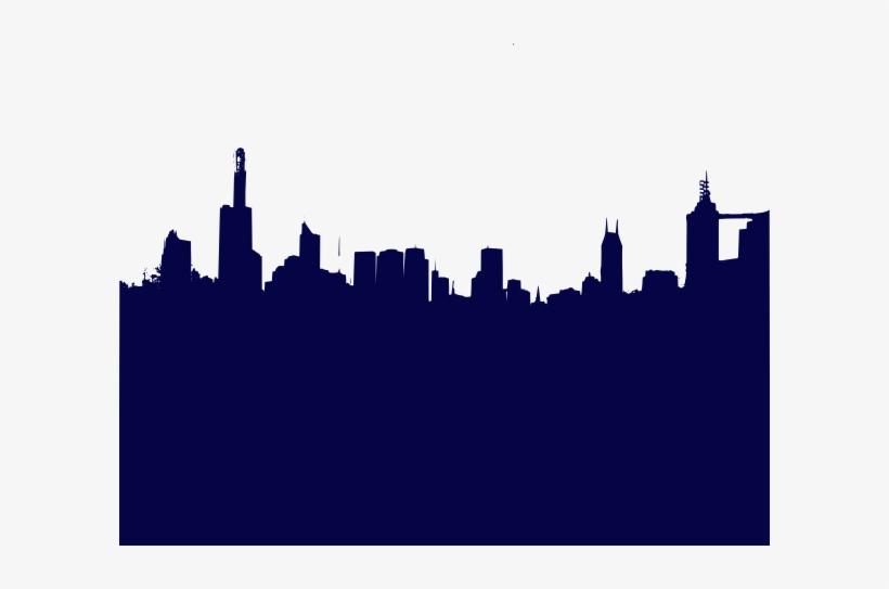 820x543 City Skyline Silhouette
