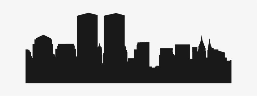 820x306 City Skyline Silhouette