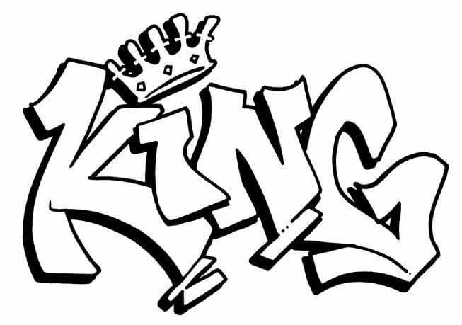 653x459 king graffiti graffiti n street art in graffiti words