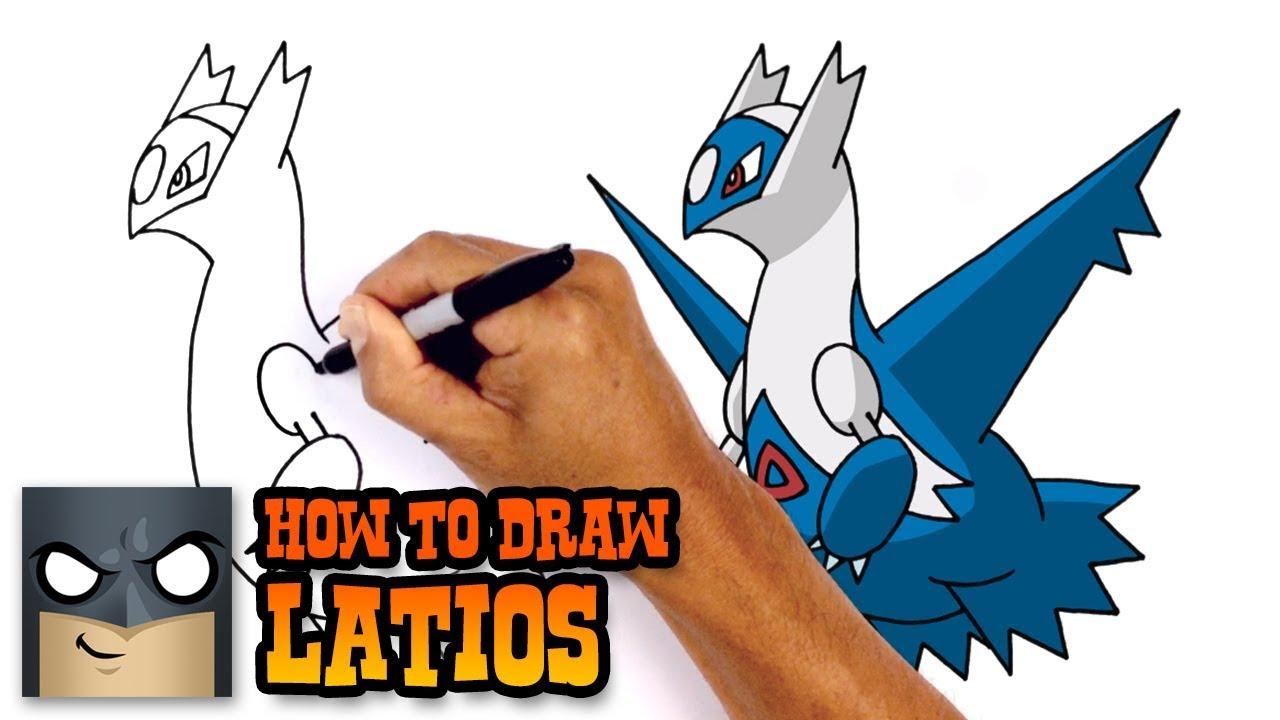 1280x720 How To Draw Latios Pokemon