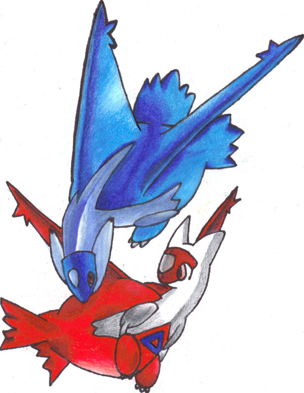 600x775 Images Of Latios And Latias Drawing