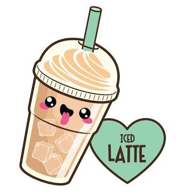 366x402 i like you a latte art kawaii doodles, kawaii, kawaii drawings
