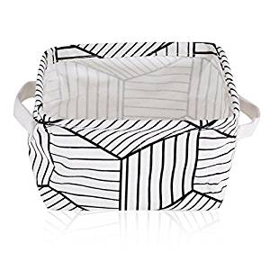 300x300 Buy Foldable Linen Fabric Convenient Storage Laundry Box Basket