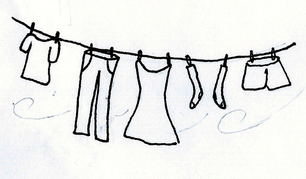 Laundry Drawings