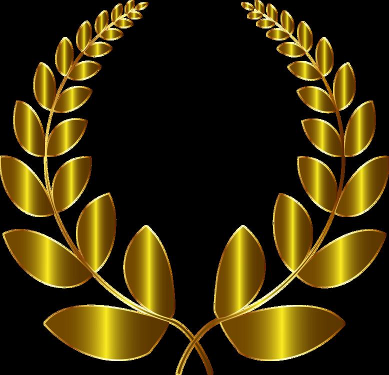 778x750 laurel wreath bay laurel gold drawing olive wreath cc0