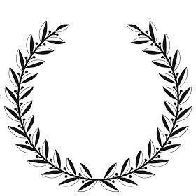 280x280 free printable laurel wreath create laurel wreath, wreaths