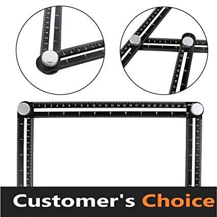 425x425 aluminum angleizer template tool layout tool measurement