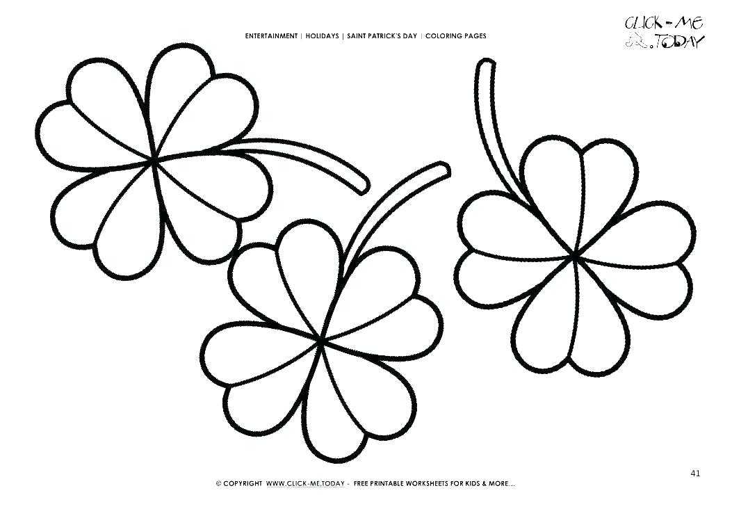 1053x745 clover drawing red clover drawing clover drawing easy