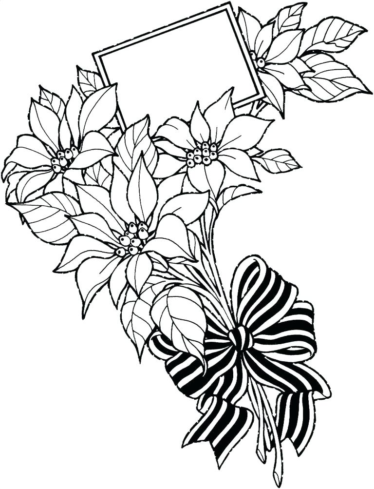 768x1003 Easy Sketch Of A Flower Download