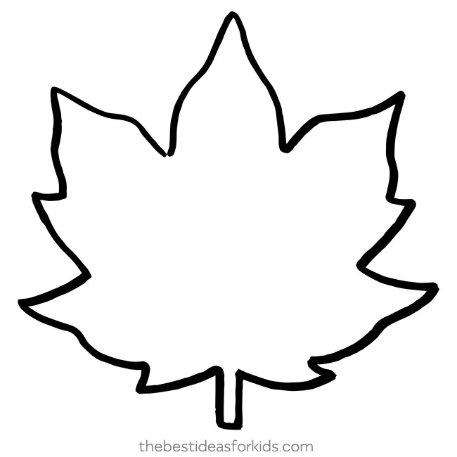 photograph about Leaf Cutout Printable called Leaf Drawing Template Free of charge obtain ideal Leaf Drawing