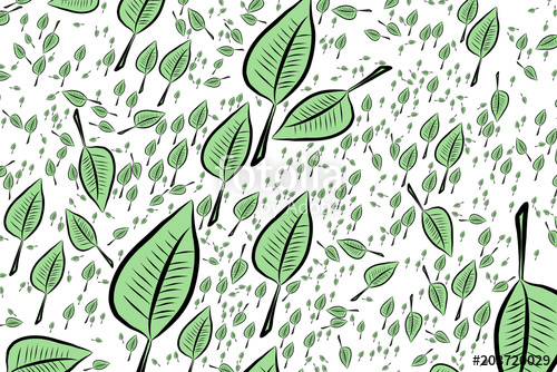 500x334 Modern Geometrical Leaves Drawing Background Pattern Abstract