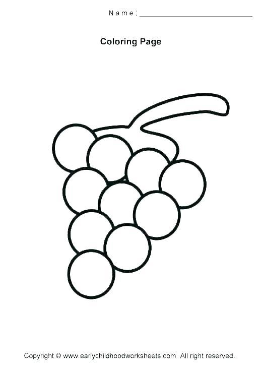 520x730 How To Draw Grapes Original How Draw Grapes Zupa