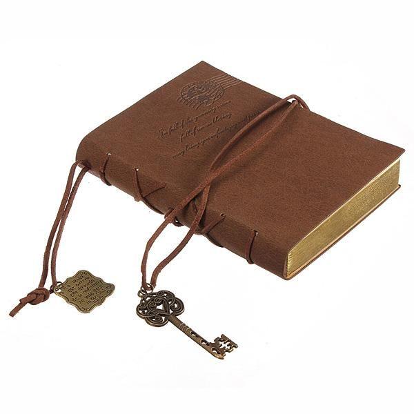 600x600 vintage leather wrap blank journal blank journal, vintage