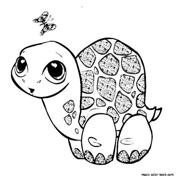 600x590 Free Leatherback Sea Turtle Coloring Page Coloring Pages