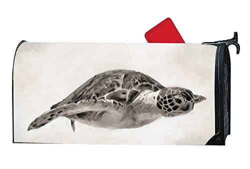 500x338 Kslids Shimmering Mailbox Covers Sea Turtle Drawing