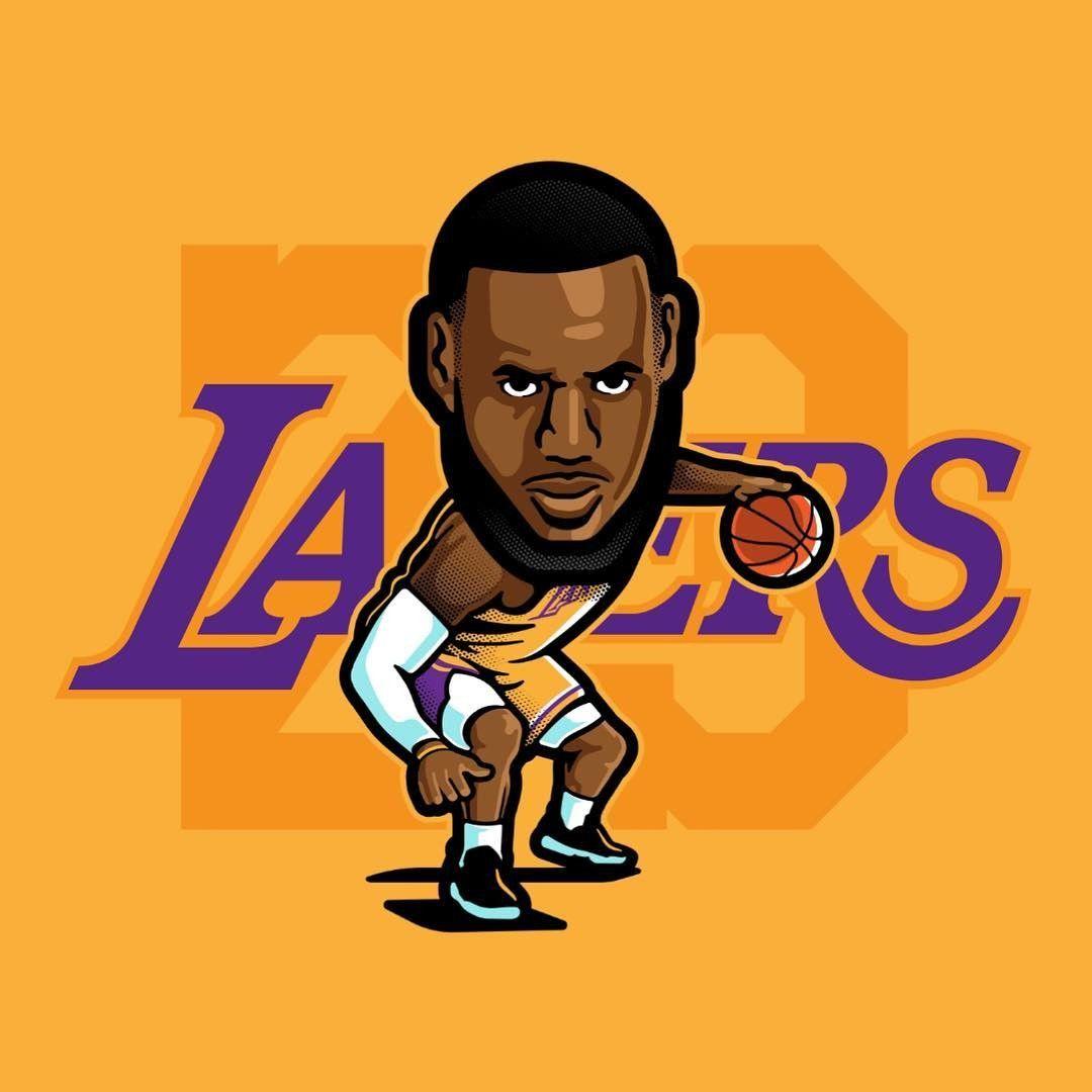 Lebron James Cartoon Drawing Free Download Best Lebron